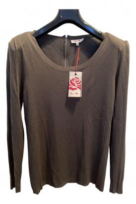 Bel Air Khaki Cashmere Knitwear