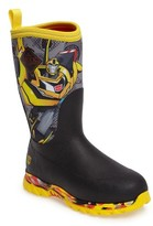 The Original Muck Boot Company Boy's Rugged Ii - Transformers Waterproof Boot