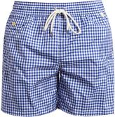 "Polo Ralph Lauren Gingham 5 3/4"" swim shorts"
