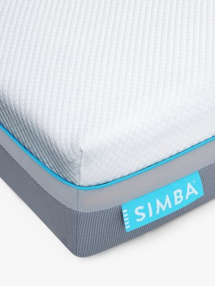 Simba Hybrid Air Cool Pocket Spring Mattress, Medium Tension, Single