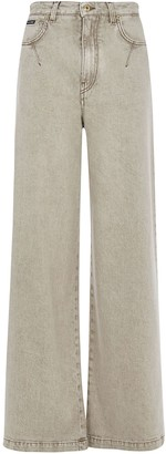 Dolce & Gabbana Long Flared Leg Jeans