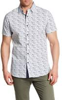 Sovereign Code Culley Print Regular Fit Short Sleeve Shirt