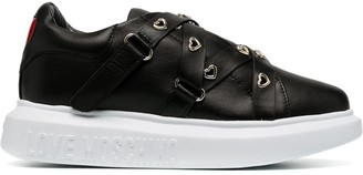 Love Moschino Heart Detailed Chunky Trainers
