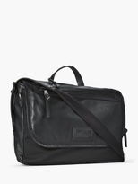 John Varvatos Leather Messenger
