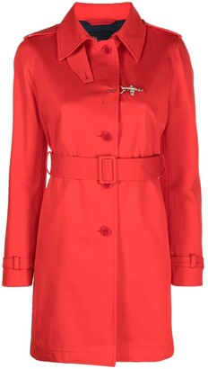 Fay Belted Trench Coat
