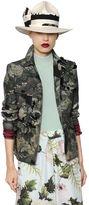 Antonio Marras Printed Cotton Canvas Jacket