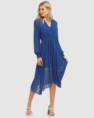 Cooper St Mallorca Long Sleeve Midi Dress