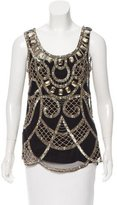 Temperley London Sleeveless Embellished Top