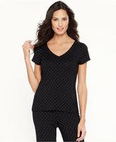 Alfani Essentials Pajama Top, Created for Macy's
