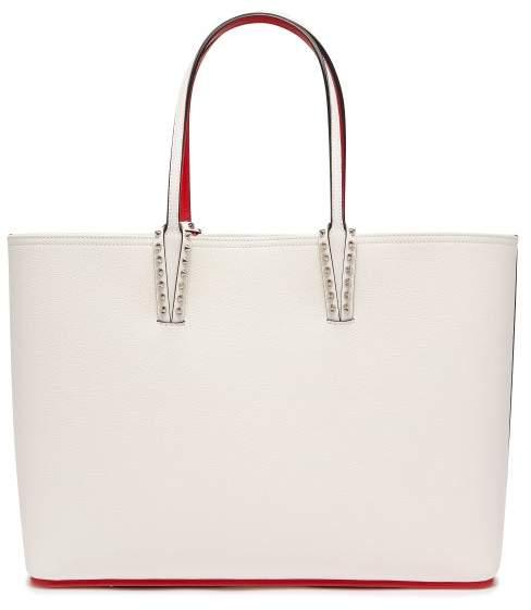 3801a21955e Cabata Spike Embellished Leather Tote - Womens - White