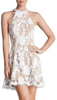 Dress the Population Women's 'Abbie' Sequin Fit & Flare Dress