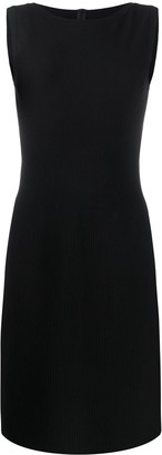 Alaïa Pre Owned Slim-Fit Knee-Length Dress