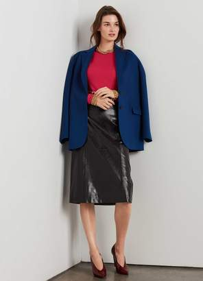 St. John Luxe Wool Cashmere Jacket