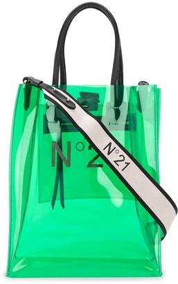 No.21 Transparent Mini Shopper