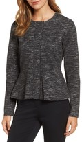 Halogen Women's Jacquard Peplum Jacket