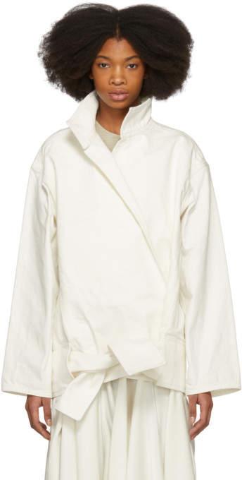 Lemaire Off-White Vareuse Jacket