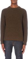 Vince Crewneck Wool And Cashmere-blend Jumper