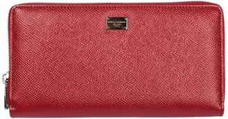 Dolce & Gabbana Dauphine Continental Zip Wallet