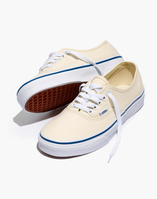 Madewell Vans Unisex Authentic Lace-Up Sneakers in Canvas