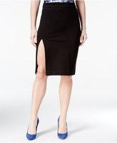 XOXO Juniors' Front-Slit Pencil Skirt