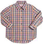 Il Gufo Check Printed Cotton Shirt