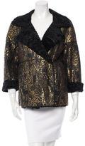 Oscar de la Renta Persian Lamb Reversible Jacket w/ Tags