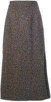 Maison Margiela tweed style skirt - women - Viscose/Virgin Wool - 40