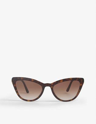 Prada Pr 01Vs cat-eye frame sunglasses