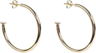 Latelita Nailed It 4cm Hoop Earrings Gold