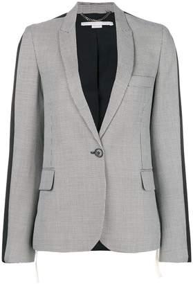 Stella McCartney zig-zag patterned blazer