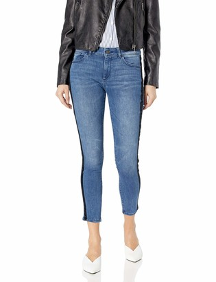 DL1961 Women's Florence Mid Rise Instasculpt Ankle Skinny Jeans
