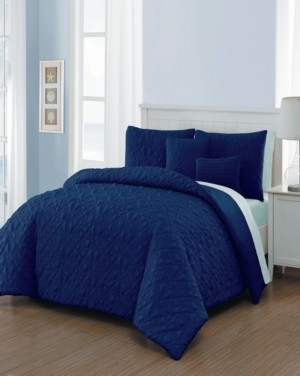 Geneva Home Fashion Del Ray 9 Pc Bed In A Bag Bedding