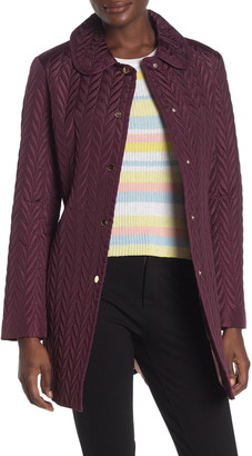 Kate Spade Quilted Snap Button Jacket