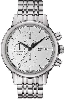 Tissot Men's Carson Automatic Chronograph Bracelet Watch, 42.3mm