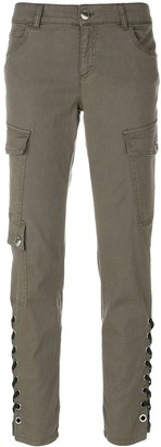 Versus Lace Up Cargo Trousers