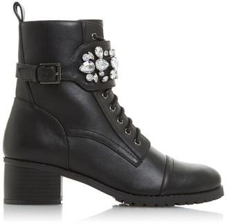 Head Over Heels Perlo Embellished Boots