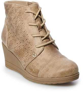 So Kaden Girls' Wedge Ankle Boots
