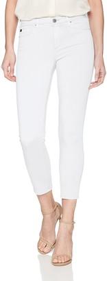 AG Jeans Women's Prime Mid-Rise Skinny Fit Cigarette Leg Crop Pant