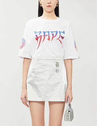 BAPE Swarovski-embellished cotton-jersey T-shirt