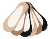 Me Moi MeMoi Cotton Womens No Show Liners - 6 Pack