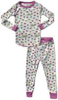 Rowdy Sprout Baby Girl's Blondie Thermal PJ Set