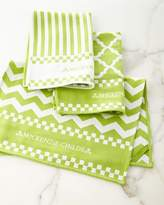 Mackenzie Childs MacKenzie-Childs Key Lime Dish Towels, Set of 3