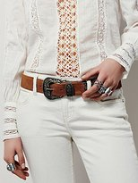 Free People Black Rock Western Belt