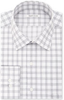 Van Heusen Men's Classic/Regular Fit Wrinkle Free Grey Solid Dress Shirt