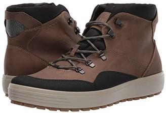 Ecco Sport Sport Soft 7 Tred Terrain GORE-TEX(r) Mid (Black/Navajo Brown) Men's Boots
