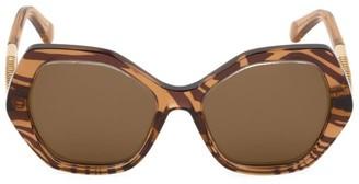 Roberto Cavalli 57MM Geometric Sunglasses