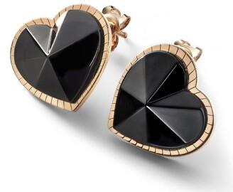 Baccarat Vermeil and Crystal Etoile de Mon Coeur Earrings