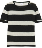 Iris and Ink Striped Cashmere Sweater