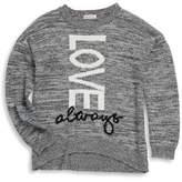 Design History Girl's Love Always Sweater