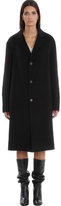 Stella McCartney Ernst Coat In Black Wool